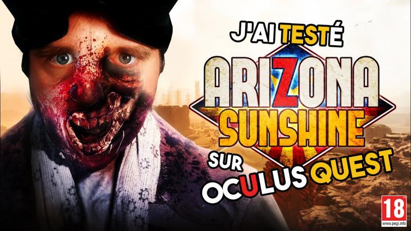 ARIZONA SUNSHINE : je me fais des zombies sur Oculus Quest ! (MINI-TEST #LetsQuest 019) - 2