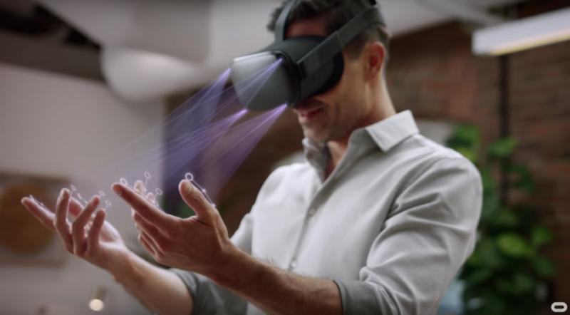 Oculus lance le Hand Tracking sur l'Oculus Quest - 2