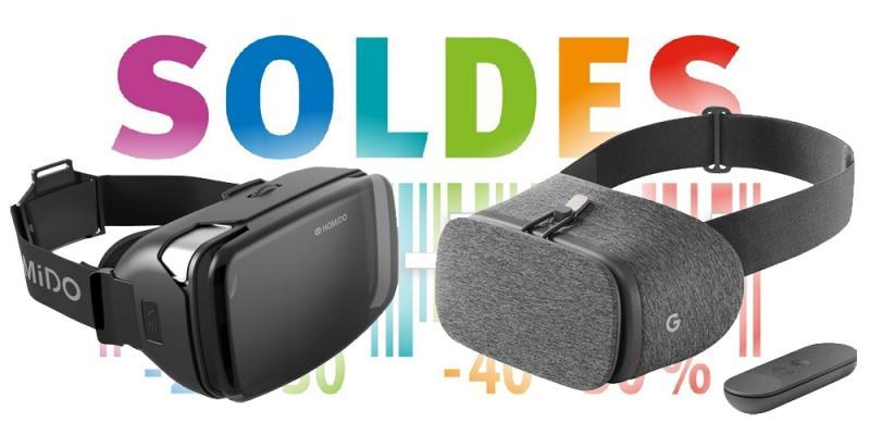 Soldes Hiver 2020 : les casques Google Daydream et Homido V2 à moins de 10€ - 2