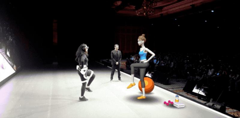 CES 2020 : Samsung montre des lunettes AR dans une démonstration de fitness - 6