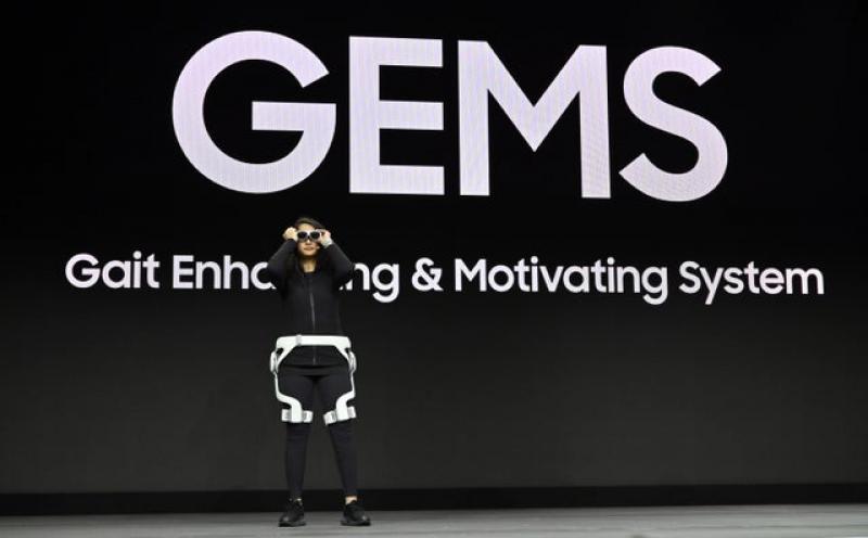 CES 2020 : Samsung montre des lunettes AR dans une démonstration de fitness - 2