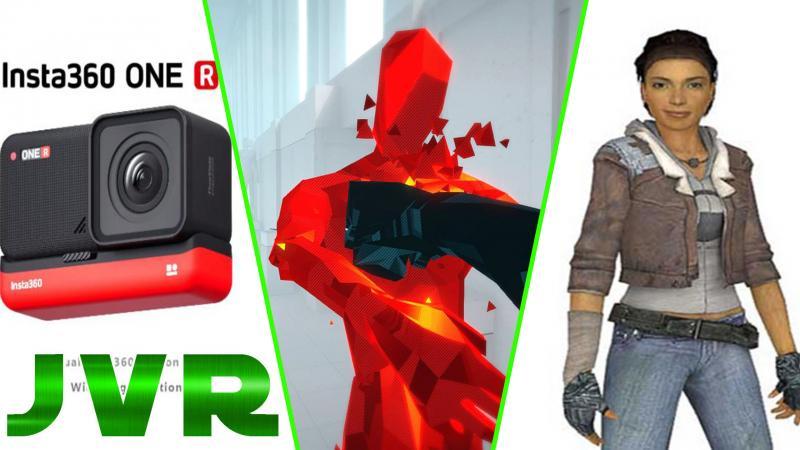 Oculus Link, Half-life Alyx, Super Hot VR, PSVR, Camera Insta 360 One R (#JVR 007) - 2