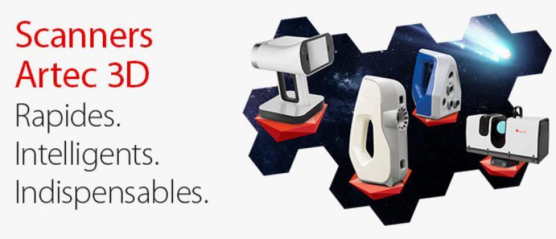 Des scanners 3D portables par Artec - 4