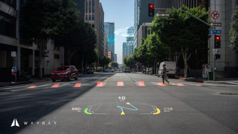 CES 2020 : WayRay dévoile son premier écran AR holographique en couleur - 2