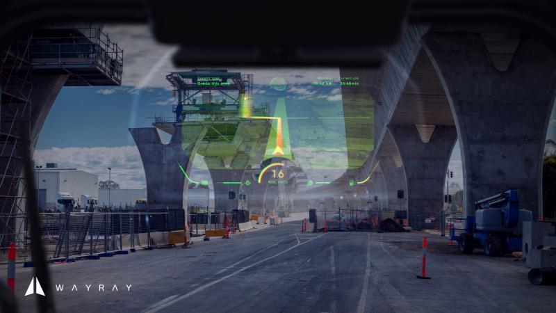 CES 2020 : WayRay dévoile son premier écran AR holographique en couleur - 4