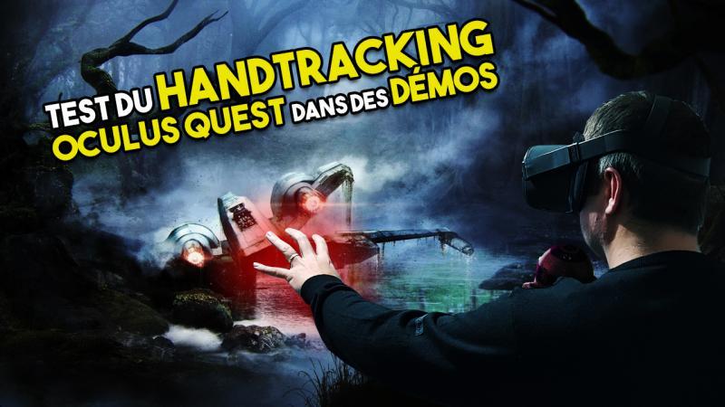 Vidéo-test : Soulever un X-Wing en VR ! 9 Démos HANDTRACKING en mini-test sur Oculus Quest (#LetsQuest 022) - 2