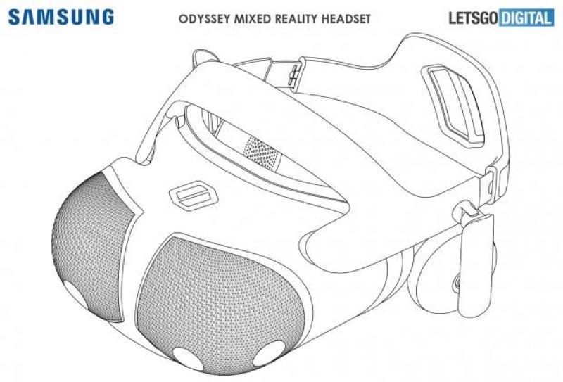 Un nouveau casque VR apparaît dans des brevets Samsung - 6