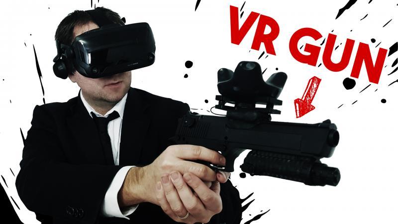 Test du Pistol VR : le gun pour les casques VR PC par Beswin (Desert Eagle VR) - 2