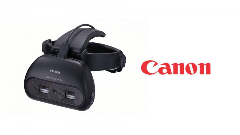"""Canon dévoile un nouveau casque """"MREAL Display MD-20"""" - 2"""