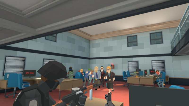 Crisis VRigade : un mode multijoueur coop à 3 joueurs sur PC  - 2
