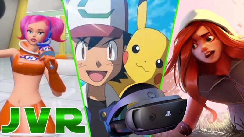Pokemon VR, PSVR 2, Half-Life Alyx, Ghost Giant , Down the rabbit Hole, Ven VR Adventure (#JVR 010) - 2