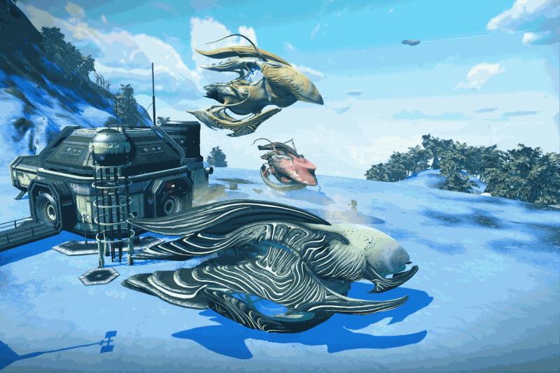 Une nouvelle mise à jour pour No Man's Sky VR ajoute les vaisseaux spatiaux biologiques - 2