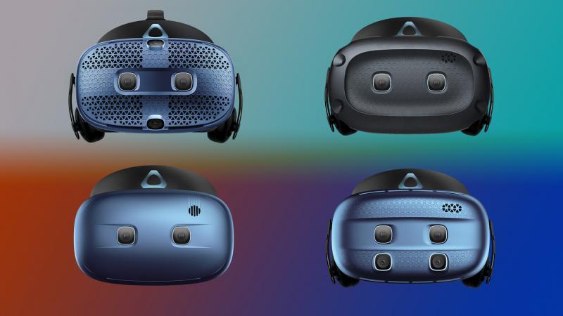 HTC présente ses nouveaux casques Vive Cosmos Play et Cosmos Elite