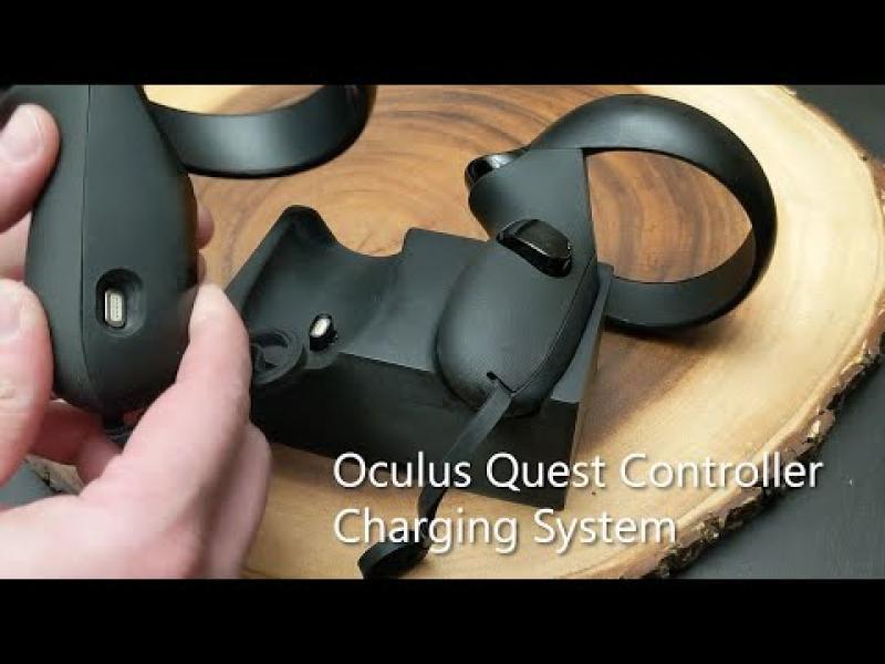 Une campagne Kickstarter pour la nouvelle station de charge du contrôleur Quest   - 2
