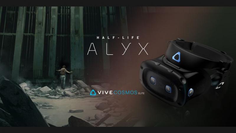 Half-Life : Alyx est offert avec le Vive Cosmos Elite  - 2