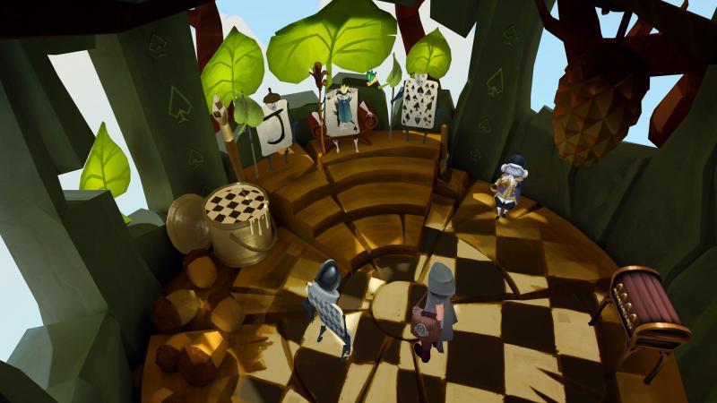 Test - Down the Rabbit Hole : le prologue d'Alice au pays des merveilles (Oculus Quest, PS4 et PC) - 13