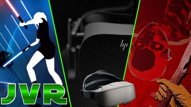 HP Reverb G2, Oculus Quest 2, Beat Saber, The Walking Dead, Virtual Battlegrounds (#JVR 013) - 2