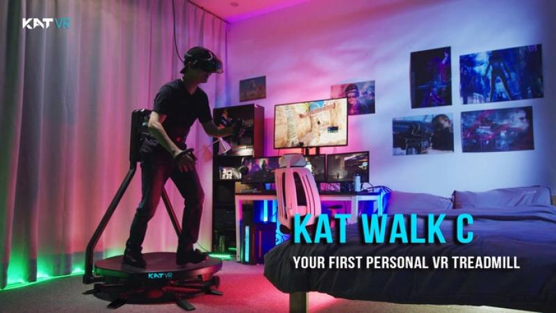 Le tapis omnidirectionnel Kat Walk C collecte plus de 1M$ en 24h sur Kickstarter ! - 2