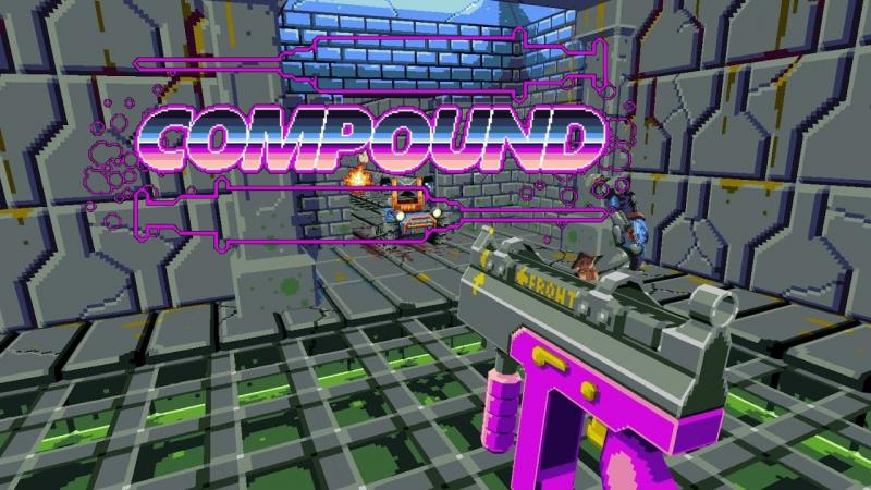 Test - COMPOUND quand Hotline Miami rencontre DOOM ! - 2