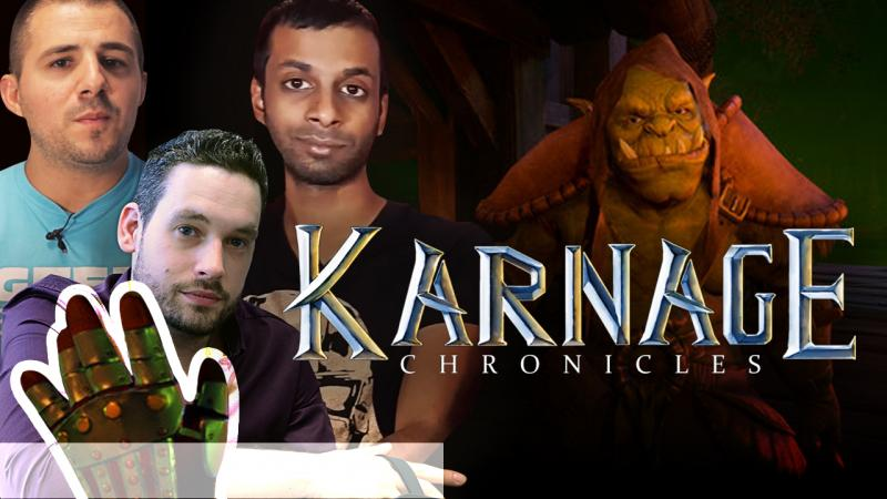 [En live] [Gameplay] Karnage Chronicles ft. la chaîne : Restez Connectés ! - 2