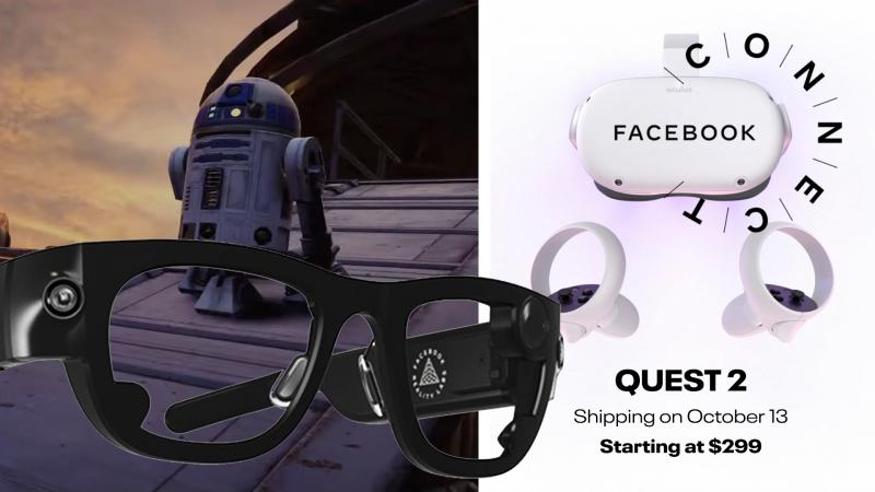 Vidéo Résumé : Oculus Quest 2 / Project Aria : le futur de la réalité virtuelle et augmentée de Facebook à la Connect 2020 - 2