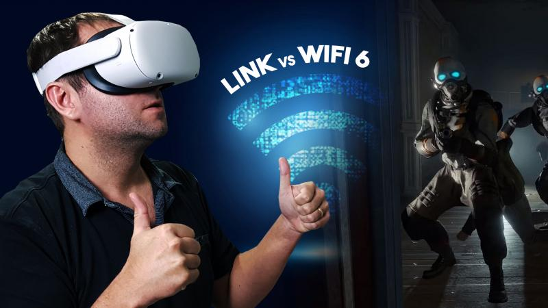 Oculus Quest 2 sur PC sans fil : Link vs Wifi 5 & 6 vs Rift S : résultats de test surprenants ! - 2