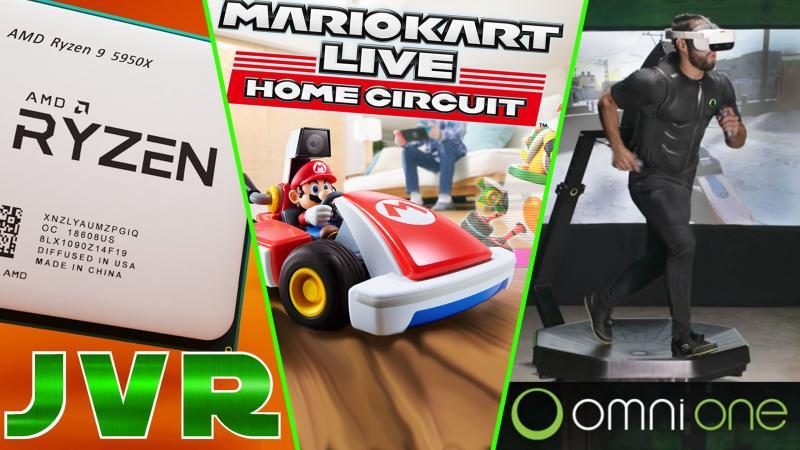Mario Kart AR, Rysen 5900X, Blair Witch VR, XBOX SERIES X, Oculus Quest 2, Omni One : (#JVR 023) - 2