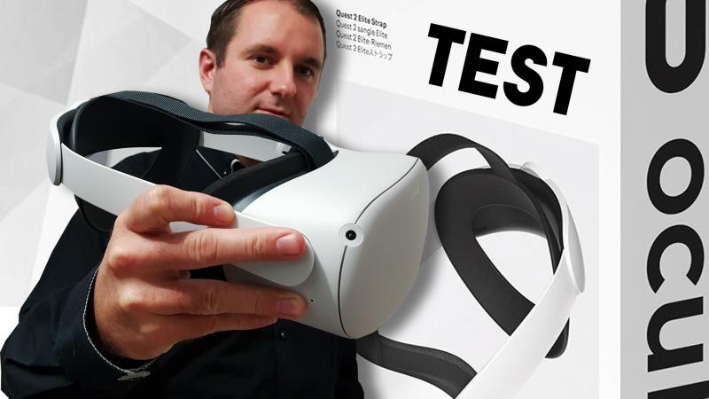 Vidéo-Test : la sangle ELITE STRAP de l'Oculus Quest 2 - 2