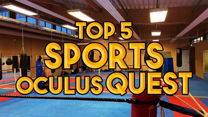 TOP 5 : les simulations de sport sur Oculus Quest 2 - 2