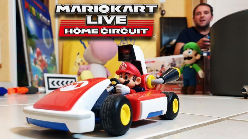 Vidéo-Test - Mario Kart Live : Home Circuit : Courses en réalité augmentée dans mon salon !  - 2