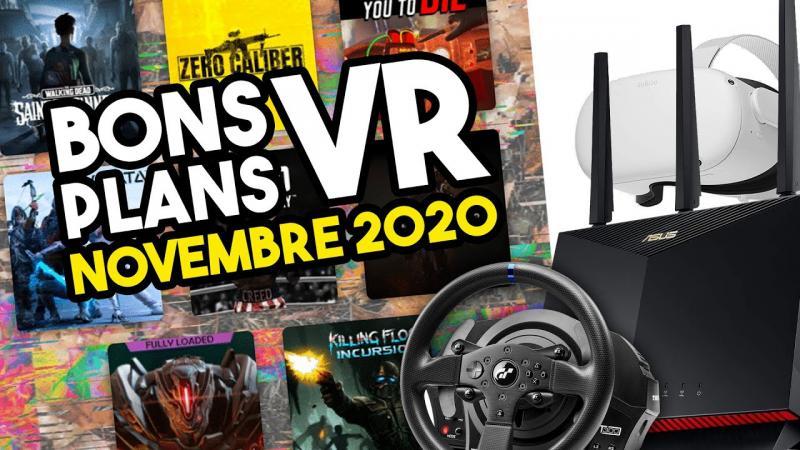 BONS PLANS VR : les meilleures offres réalité virtuelle du mois (Novembre 2020) - 2