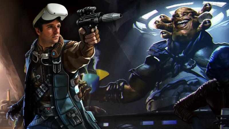 Vidéo-Test STAR WARS: Tales From The Galaxy's Edge sur OCULUS QUEST: réparateur de droïde & tireur d'élite - 2