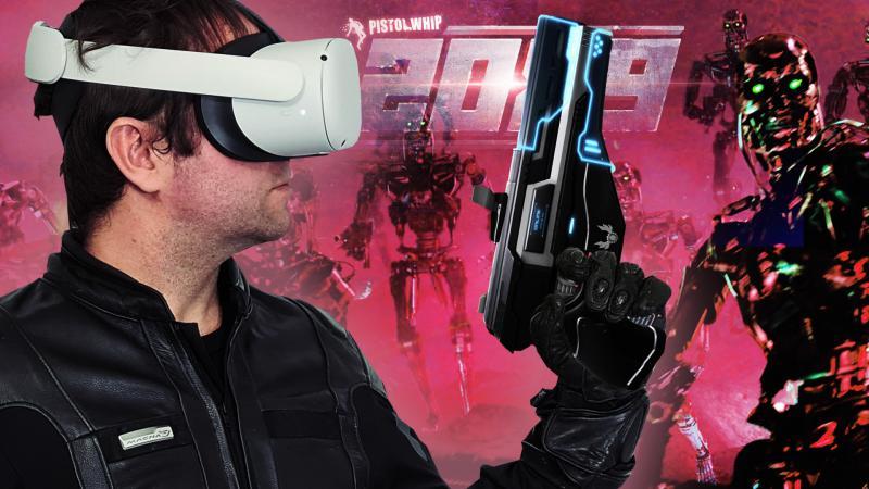 Vidéo-Test PISTOL WHIP 2089 sur OCULUS QUEST: la chasse aux Terminators en musique est ouverte ! - 2