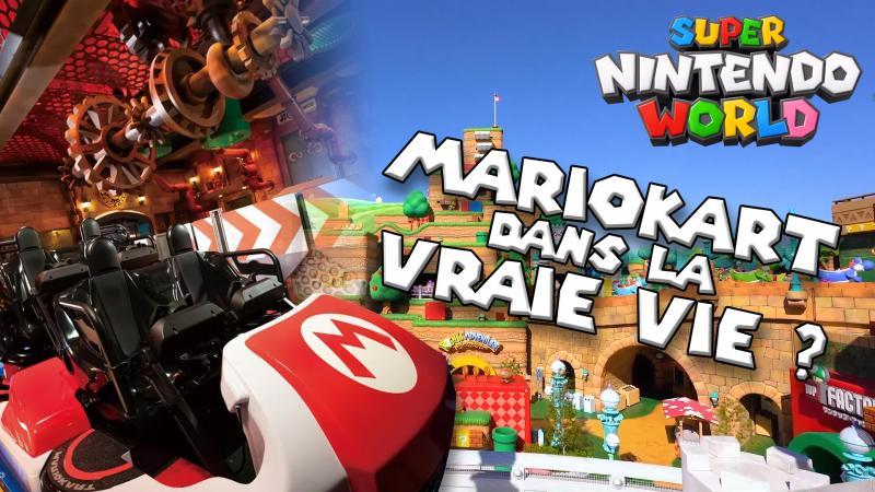 L'incroyable parc d'attraction MARIO mêlant virtuel et réel : SUPER NINTENDO WORLD ! - 2