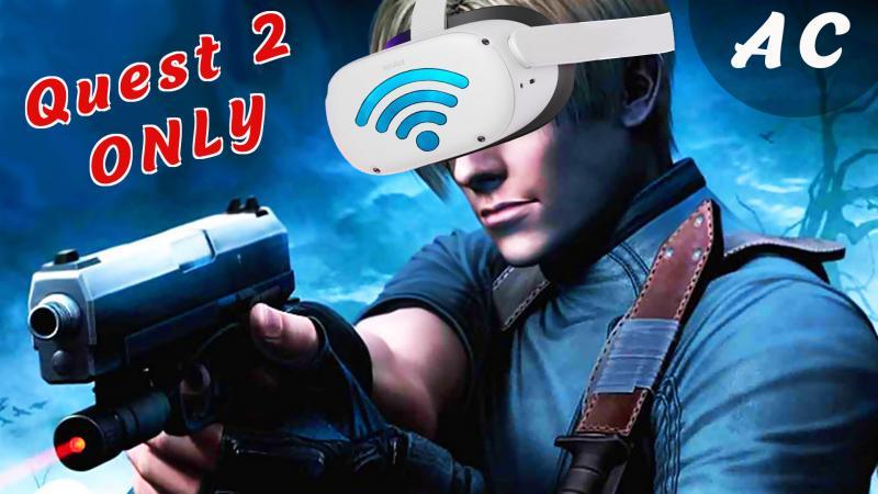 RESIDENT EVIL 4 VR EXCLU QUEST 2 -&- FONCTION AIR LINK - 2