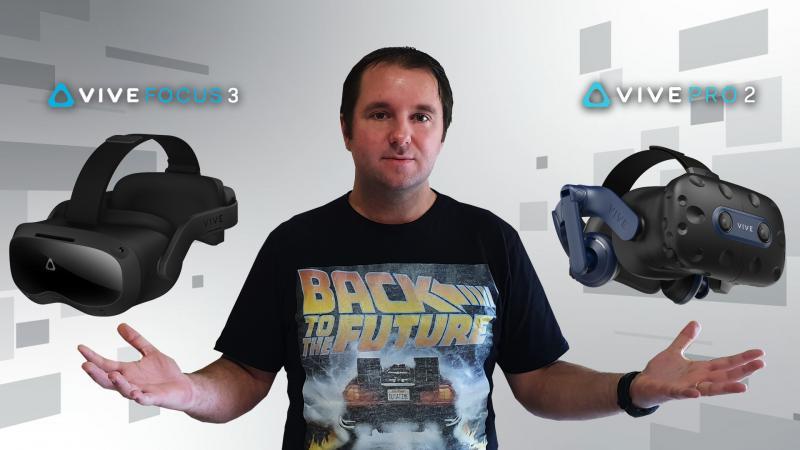 HTC Vive Pro 2 & Focus 3 : des casques VR de Pro ou de trop ? - 2