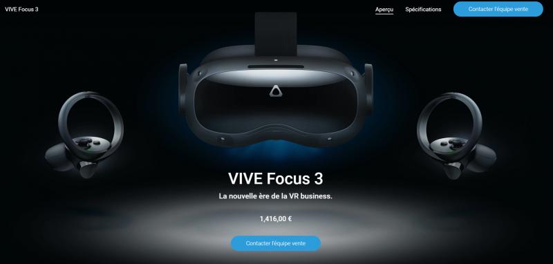 HTC Vive Pro 2 & Focus 3 : des casques VR de Pro ou de trop ? - 13