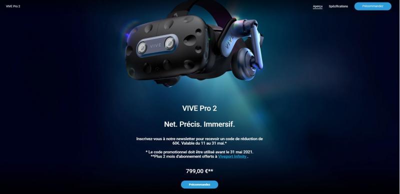 HTC Vive Pro 2 & Focus 3 : des casques VR de Pro ou de trop ? - 21