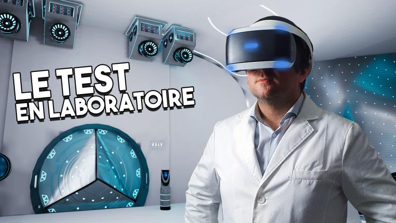 Vidéo : Le PSVR au Lab ! L'improbable et SURPRENANT TEST après 5 ans !! - 2