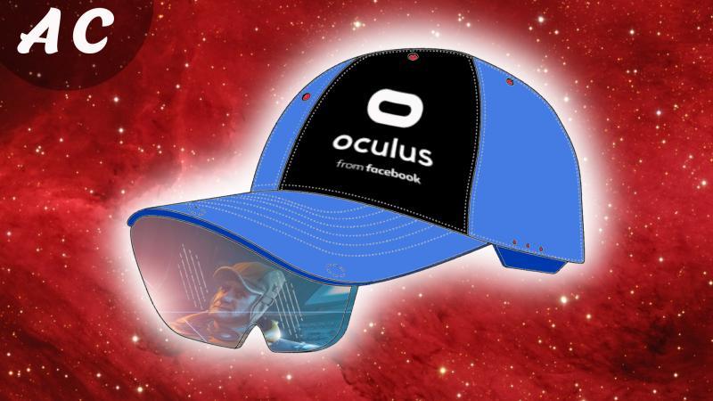 Une CASQUETTE  VR par Facebook Oculus ??? Un truc de OUF ! - 2