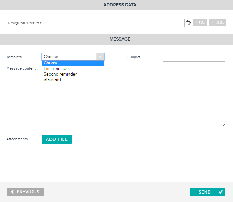 How Can I Send A Reminder Of An Invoice In Teamleader Teamleader - Invoice 4 you