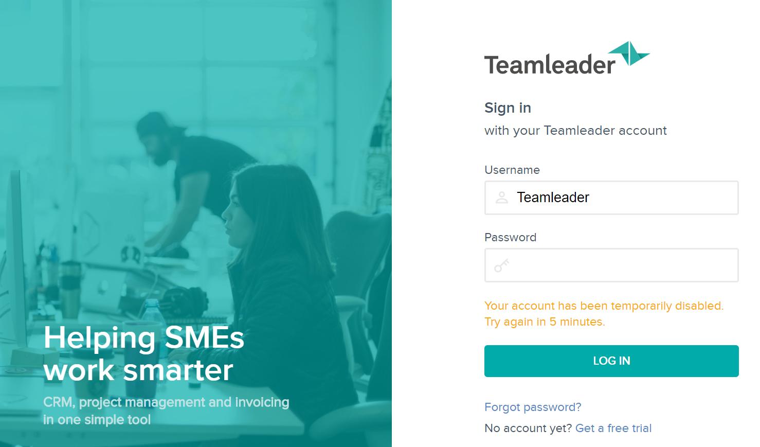 reinitialiser-mot-de-passe-teamleader