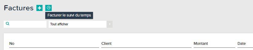 Horloge du suivi du temps dans Teamleader pour facturer