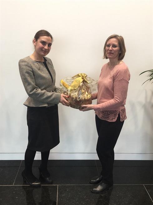Easter Egg hunt winner  2018