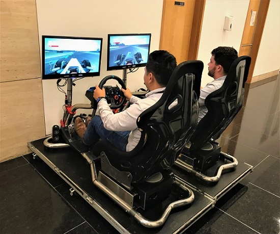 Formula 1 Car simulator event - July 2019
