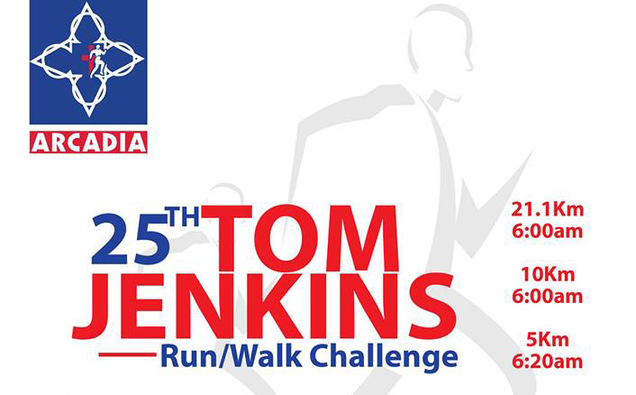 25th Tom Jenkins Run / Walk Challenge