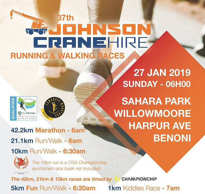 Johnson Crane Marathon - 2019