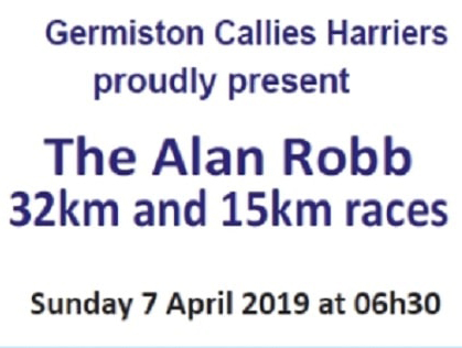 Alan Robb 32 & 15km Road Race (2019)