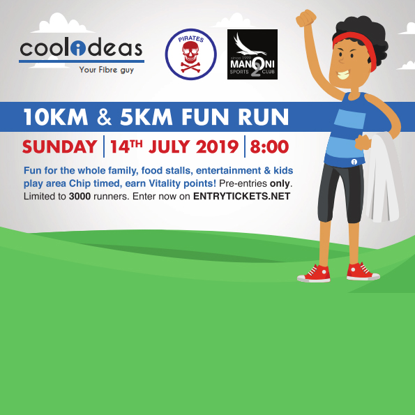 Cool Ideas (Pirates) 10km (2019)