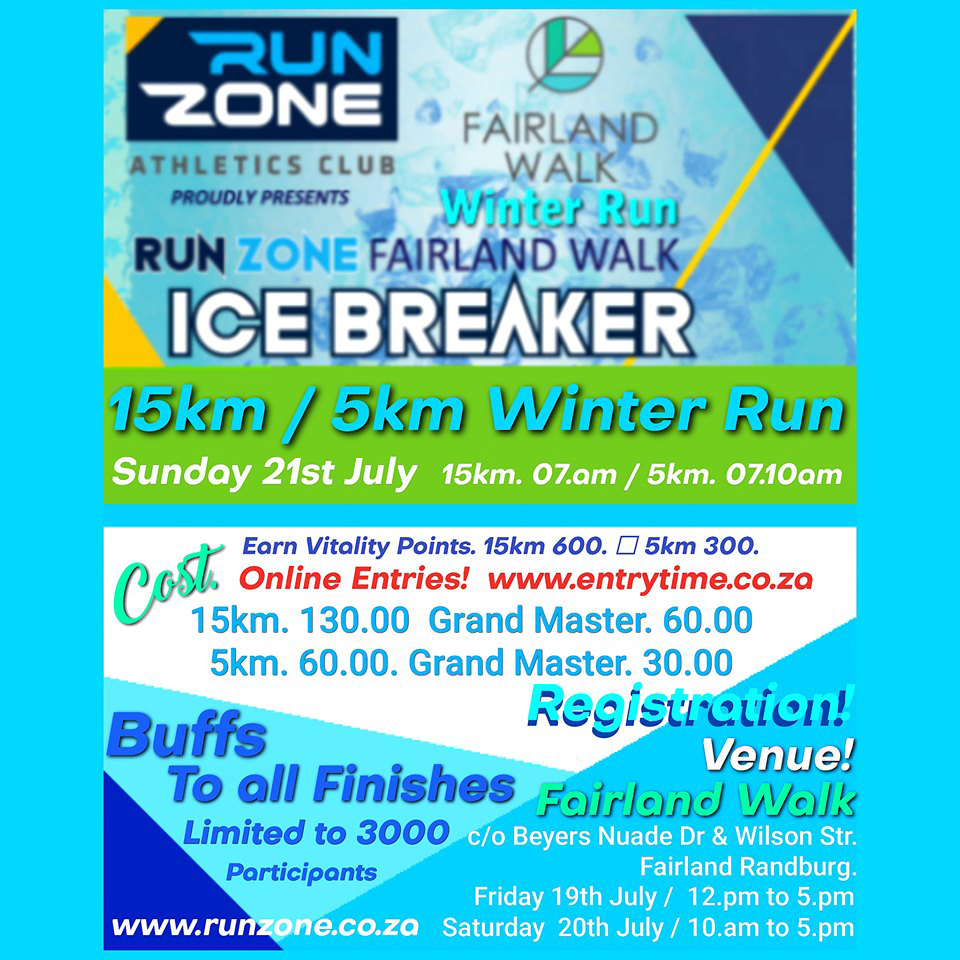 Run Zone Fairland Walk - Icebreaker Winter Run (2019)